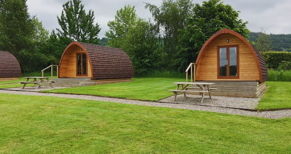 Glamping holidays in North Yorkshire, Northern England - Hillside Caravan Park