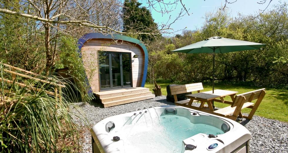 Glamping holidays in Devon, South West England - Sunridge EcoPod