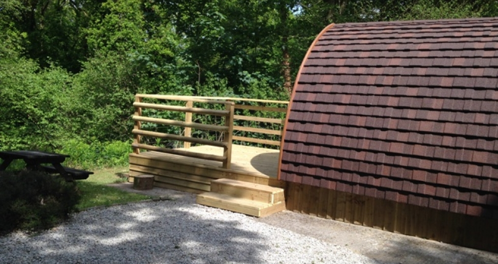 Glamping holidays in Cornwall, South West England - Ruthern Valley Holidays