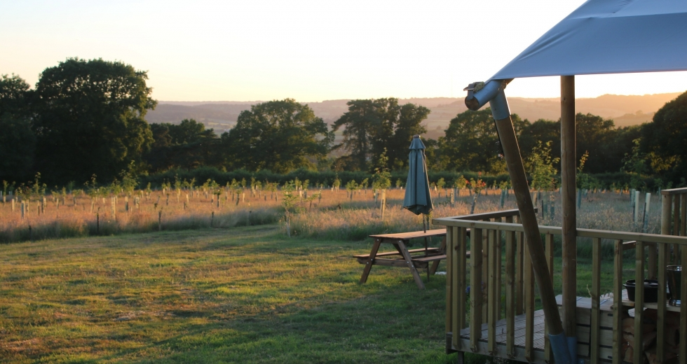 Glamping holidays in Devon, South West England - Jurassic Glamping