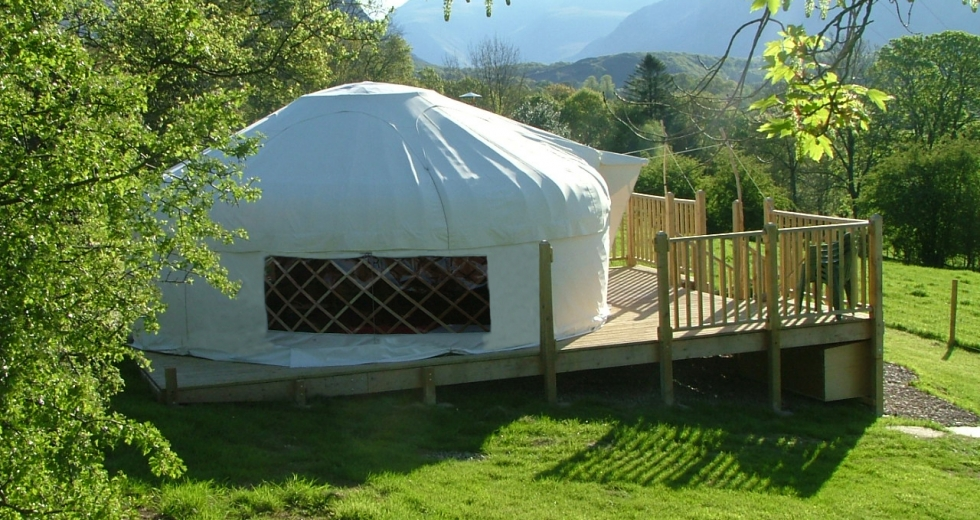 Glamping holidays in the Lake District, Cumbria, Northern England - Wasdale Yurt Holiday