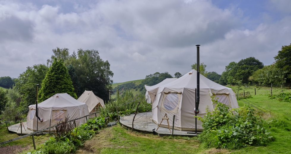 Glamping holidays in Devon, South West England - Deer's Leap Retreat