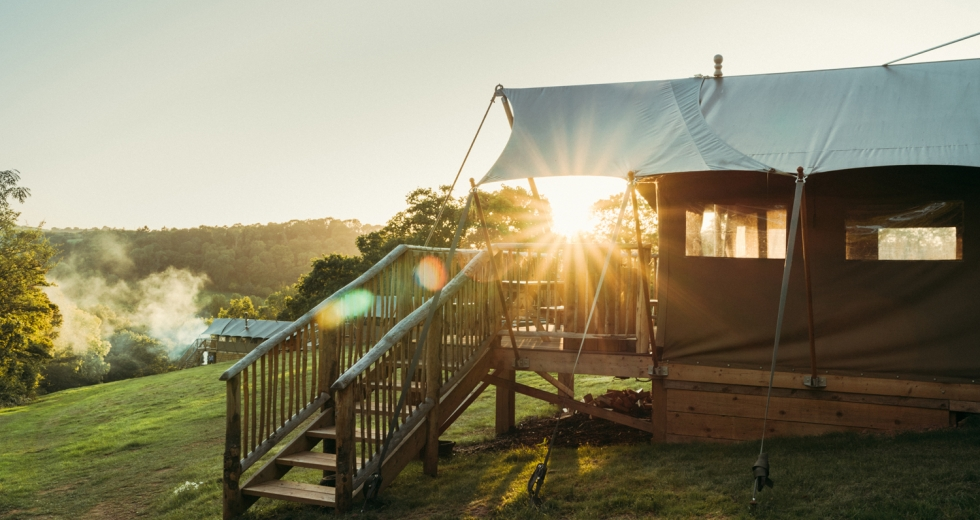 Glamping holidays in Devon, South West England - Exe Valley Glamping