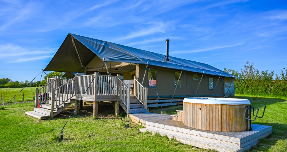 Glamping holidays in Devon, South West England - Midleydown Glamping