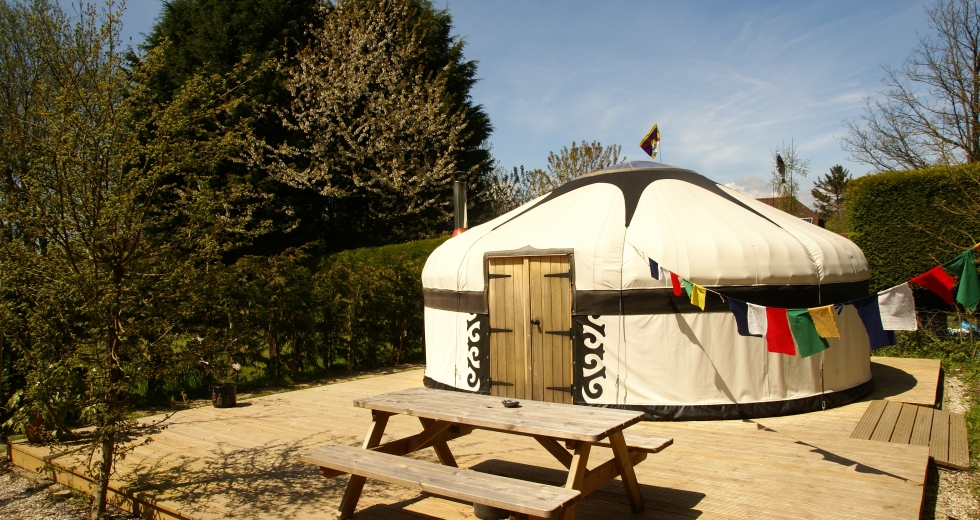 Glamping holidays in East Sussex, South East England - Dogwood Glamping