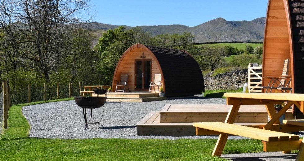 Glamping holidays in the Lake District, Northern England - Beckstones Glamping Pods