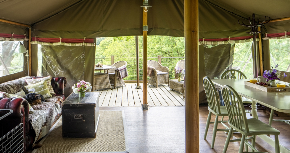 Glamping holidays in North Devon, South West England - Longlands
