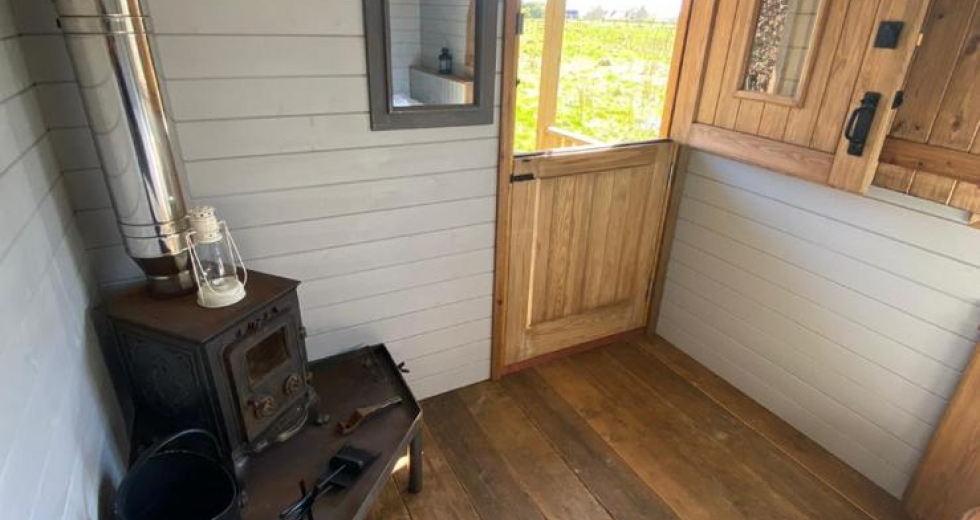 Glamping holidays in Northumberland, Northern England - Lucker Mill Shepherds Huts