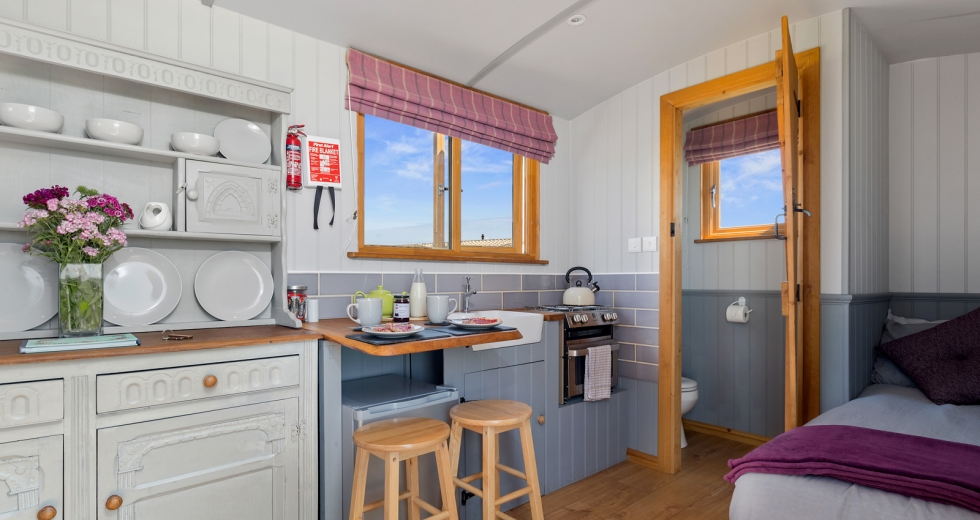 Glamping holidays in Pembrokeshire, South Wales - NC Shepherds Huts