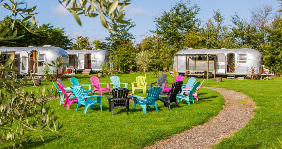 Glamping holidays in Suffolk, Eastern England - Happy Days Retro Vacations