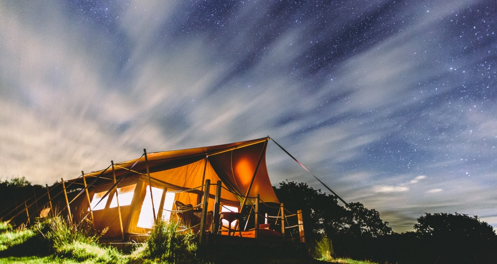 Glamping holidays in North Devon, South West England - Welcombe Meadow