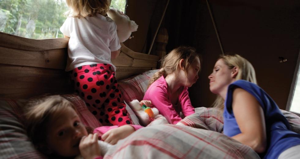 Glamping holidays in Rutland, Central England - Lantern & Larks, Exton Park