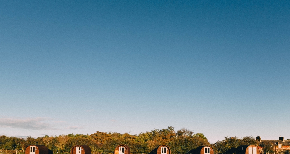 Glamping holidays in Northumberland, Northern England - Doxford Farm Camping
