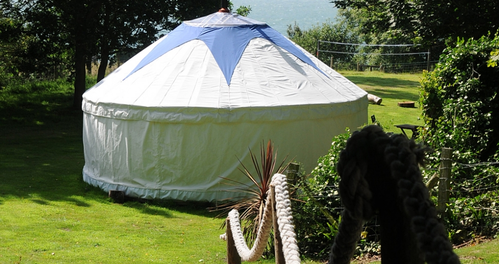 Glamping holidays in Isle of Wight, South East England - Bank End Farm
