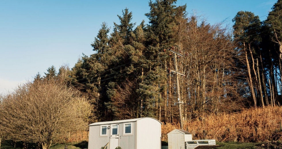 Glamping holidays in Yorkshire, Northern England - The Little Yorkshire Shepherds Hut