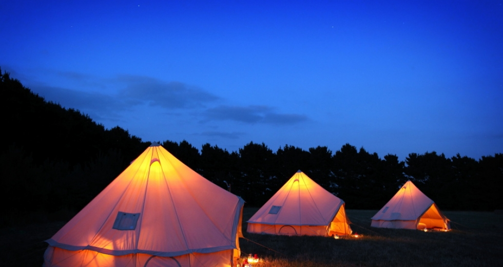 Glamping holidays in Norfolk, Eastern England - Wild Camp
