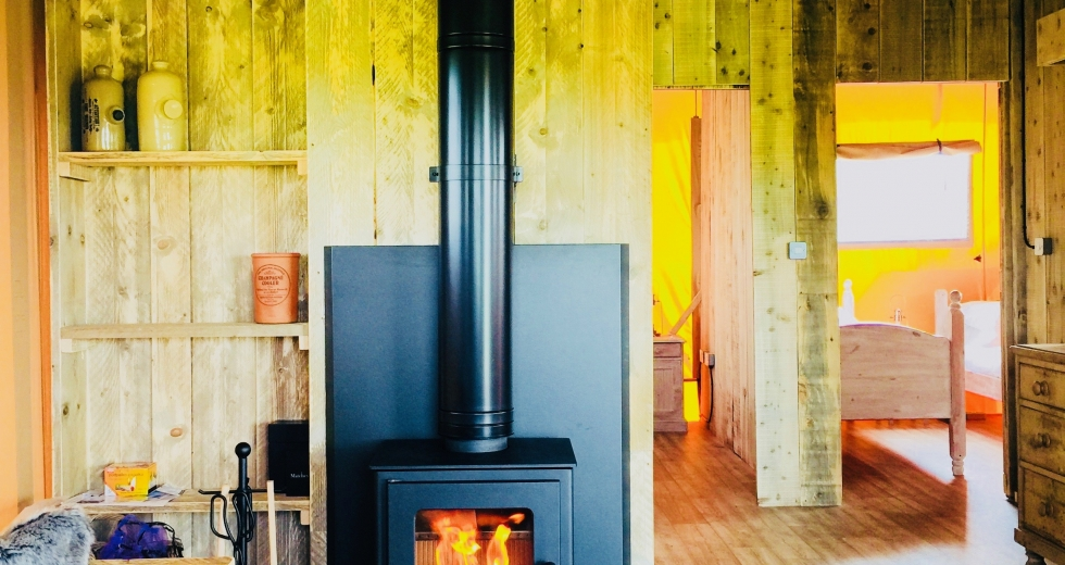 Glamping holidays in Kent, South East England - Gravel Pit Farm