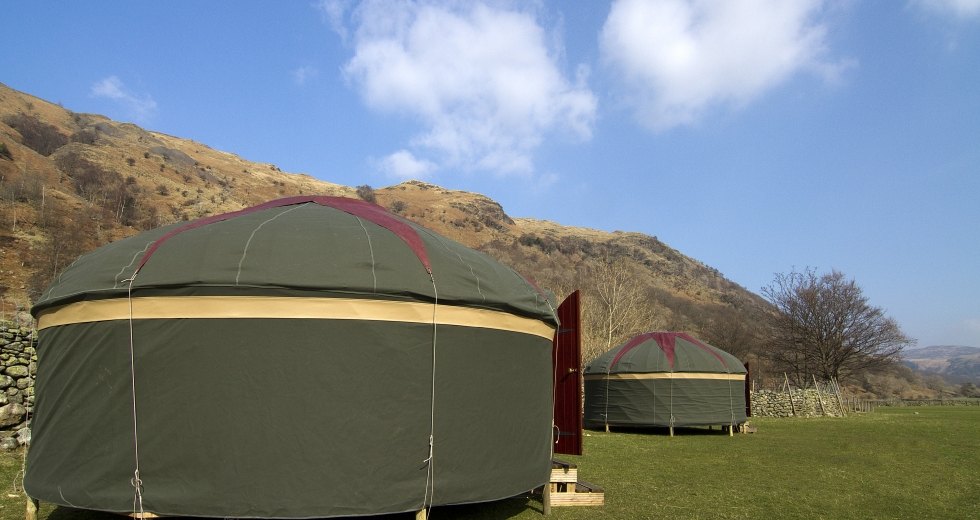 Glamping holidays in the Lake District, Cumbria, Northern England - Lakes Yurts
