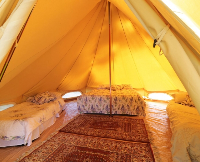 Glamping holidays in Suffolk, Eastern England - Hill Farm Glamping