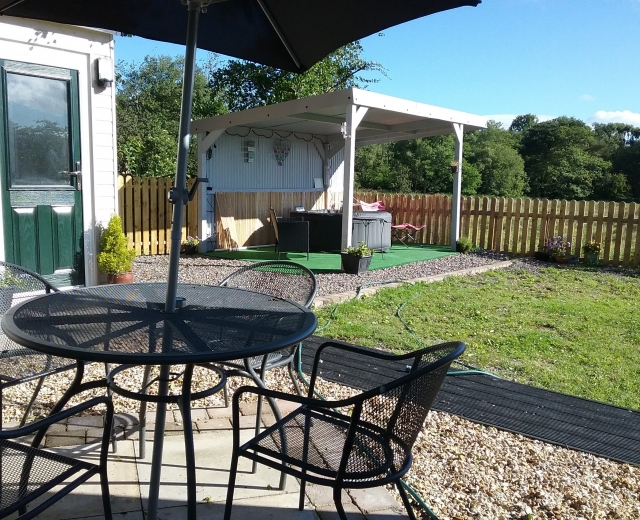 Glamping holidays near the Lake District, Cumbria, Northern England - Woodland View