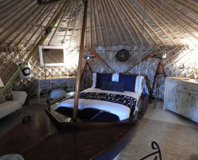Glamping holidays in Hampshire, South East England - Marina Yurts