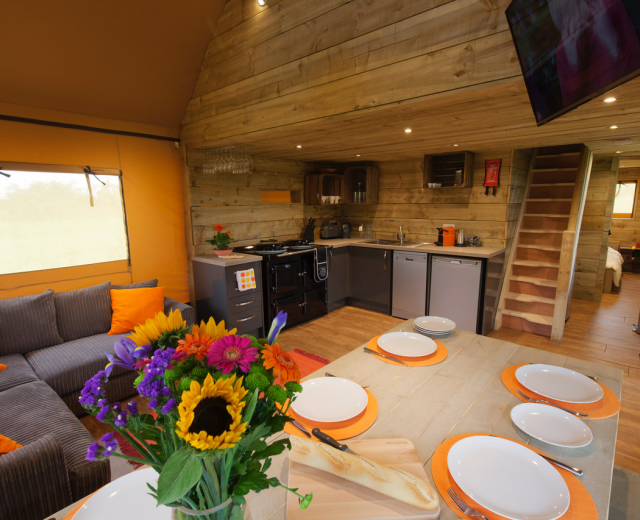 Glamping holidays in West Sussex, South East England - Concierge Camping