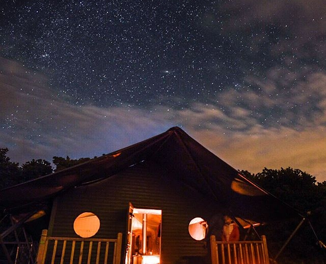 Glamping holidays in Norfolk, Eastern England - Wild Luxury, The Hideaway