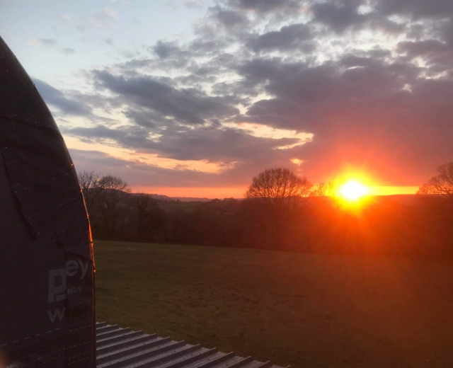 Glamping holidays in Carmarthenshire, South Wales - The Country Retreat