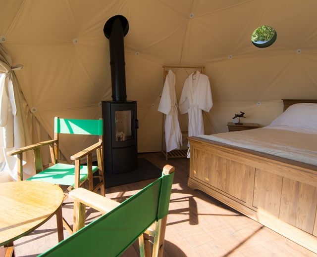Glamping holidays in Herefordshire, Central England - Redhill Glamping Holidays