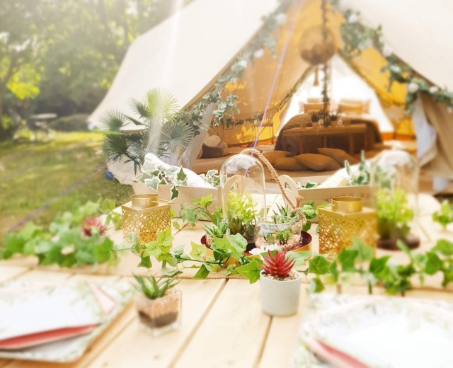 Glamping holidays in Kent, South East England - Glamping Hideaway