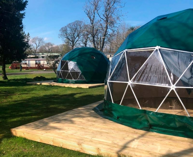Glamping holidays in Stirlingshire, Southern Scotland - Campsie Glen Holiday Park