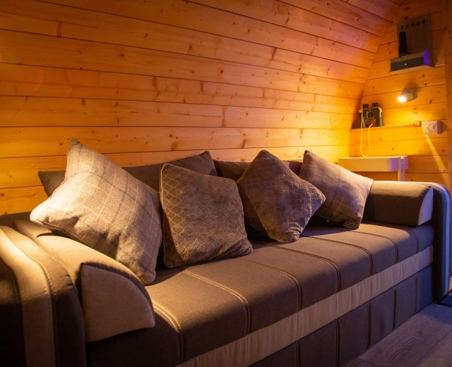 Glamping holidays in South Yorkshire, Northern England - The Back O' Beyond