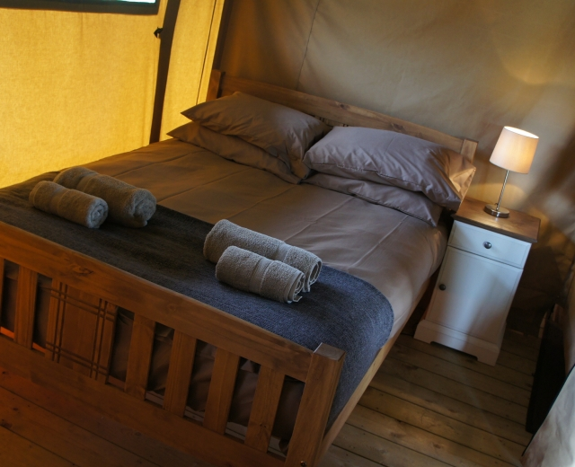 Glamping holidays in Hampshire, South East England - Marwell Safari Village