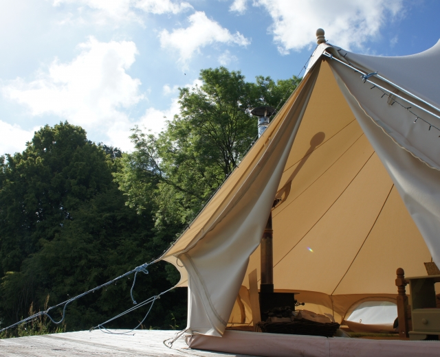 Glamping holidays in Worcestershire, Central England - Hidden Valley Camping