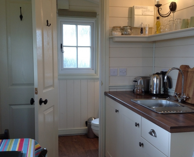 Glamping holidays in Warwickshire, Central England - Grounds Farm Shepherd's Hut