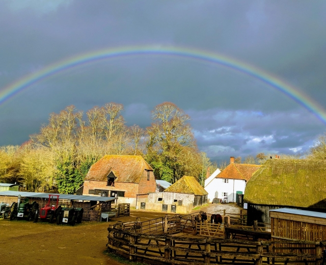 Glamping holidays in Hampshire, South East England - Canvas & Stars, Manor Farm