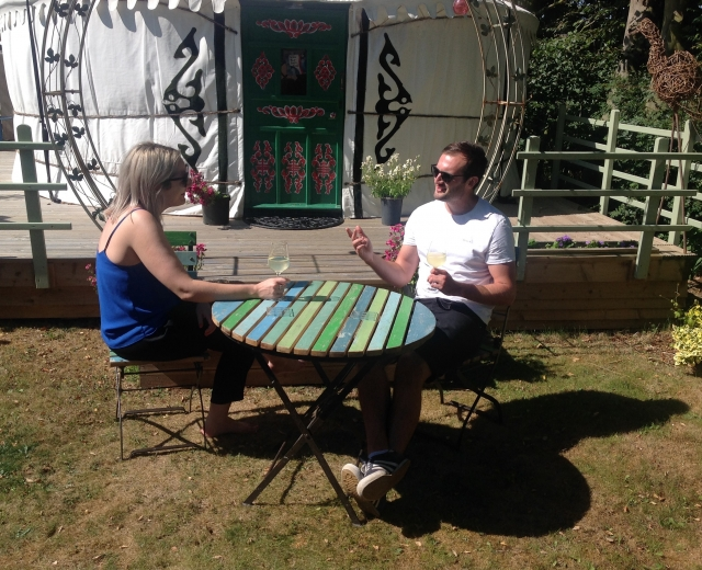 Glamping holidays in Lincolnshire, Central England - Yurt at the Chapel