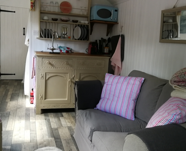 Glamping holidays in Cornwall, South West England - Beaumist Orchard