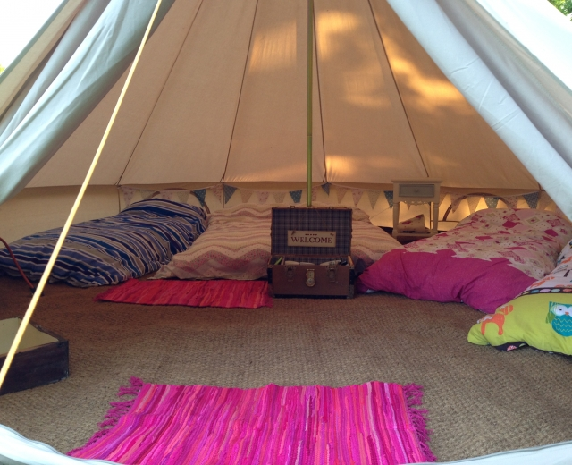 Glamping holidays in Norfolk, Eastern England - Gorsey Meadow