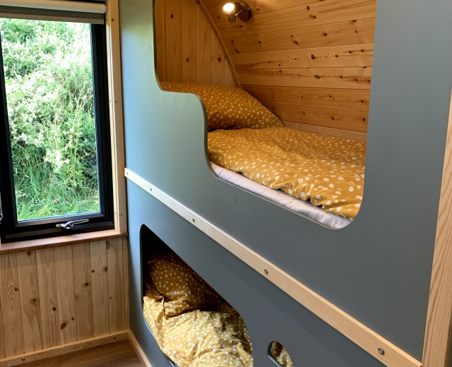 Glamping holidays in Cornwall, South West England - The Beeches Glamping
