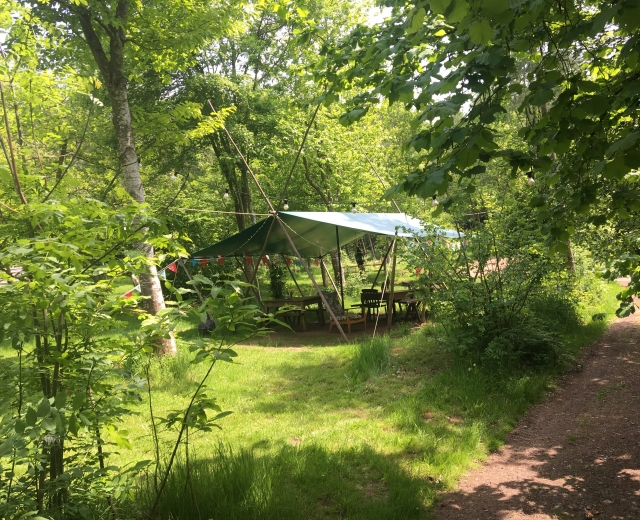 Glamping holidays in Herefordshire, Central England - Woodland Tipi & Yurt Holidays