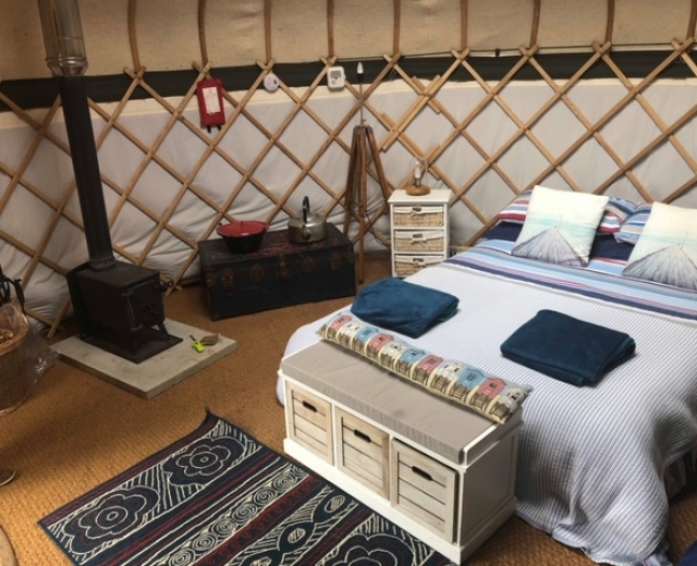 Glamping holidays in Norfolk, Eastern England - The Grove Hotel