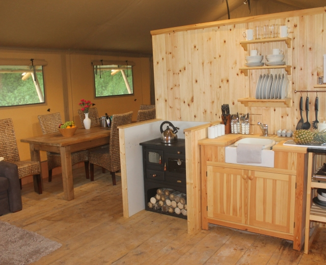 Glamping holidays in Hampshire, South East England - Beechen Glamping