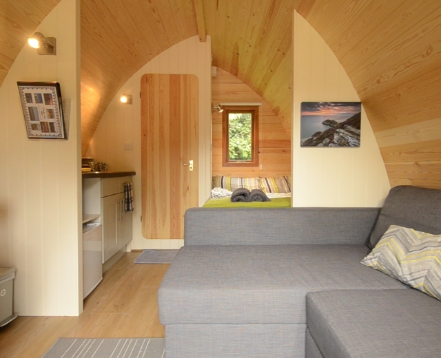 Glamping holidays in Anglesey, North Wales - Llanfair Hall