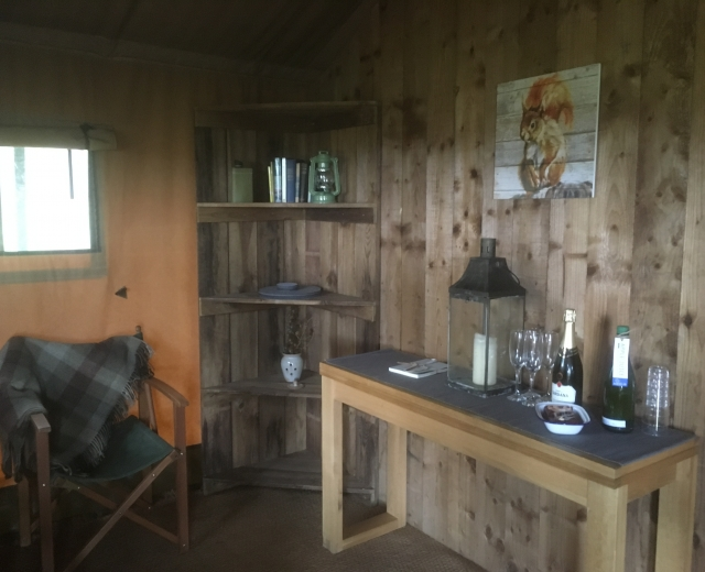 Glamping holidays in Scottish Borders, Southern Scotland - Ruberslaw Wild Woods Camping