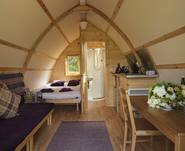 Glamping holidays in Buckinghamshire, South East England - Hill Farm Wigwams