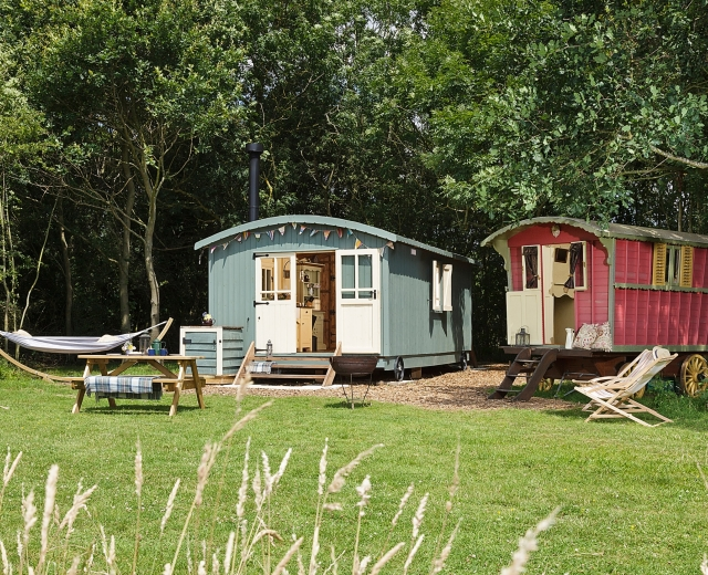 Glamping holidays in Suffolk, Eastern England - Secret Meadows