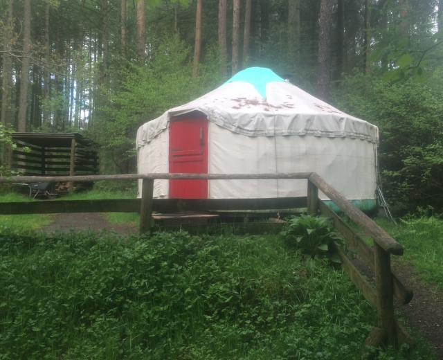Glamping holidays in Dumfries & Galloway, Southern Scotland - Marthrown of Mabie