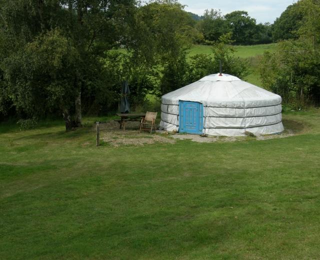 Glamping holidays near Snowdonia, North Wales - Cae Wennol Yurts