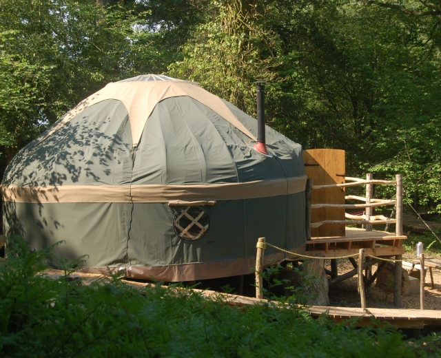Glamping holidays in Dorset, South West England - Mallinson's Woodland Retreat